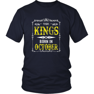 The Kings Are Born In October Shirt