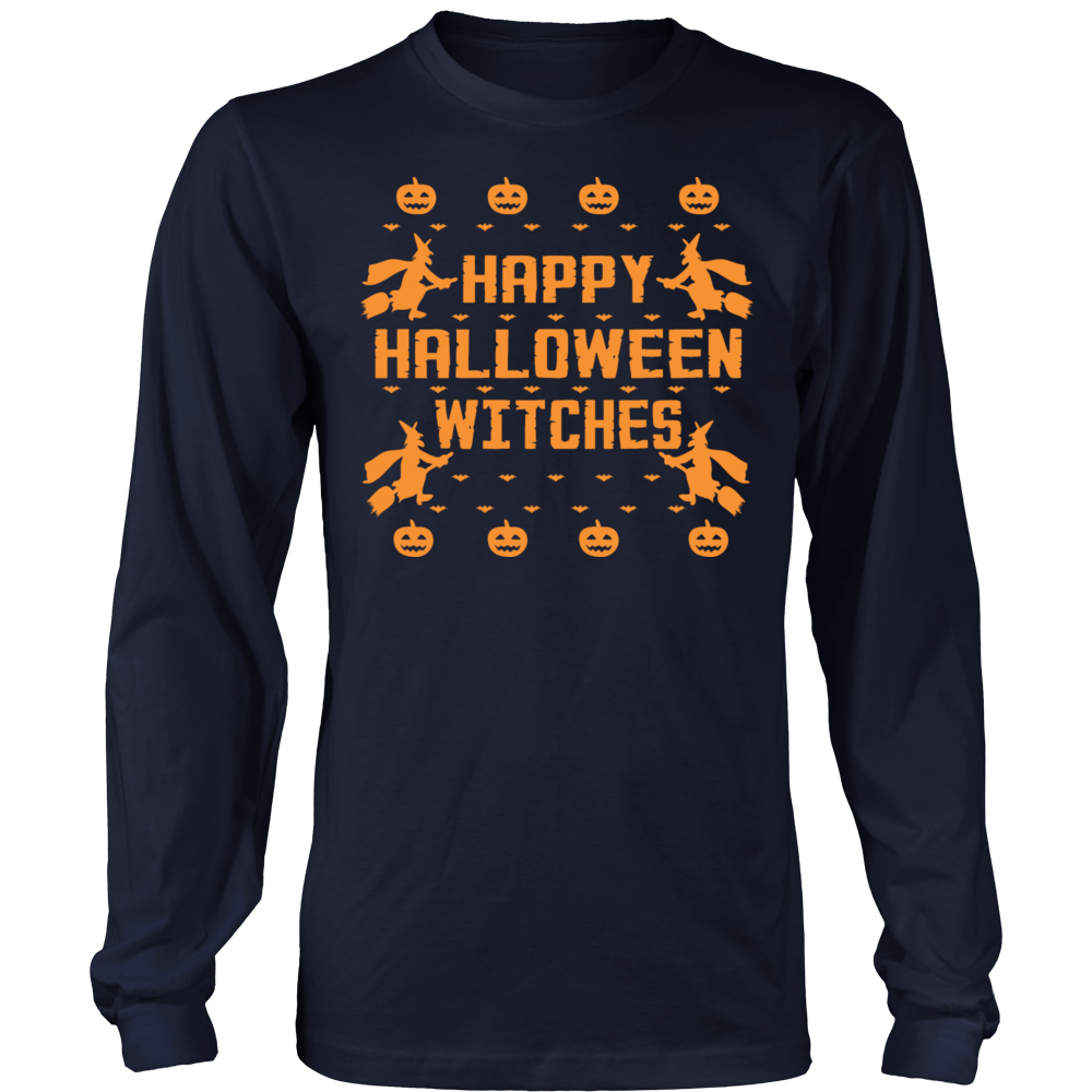 happy halloween witches t shirt