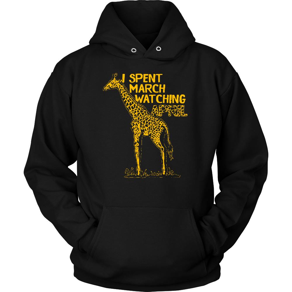 Funny and Witty April the Giraffe Pun Distressed T-Shirt