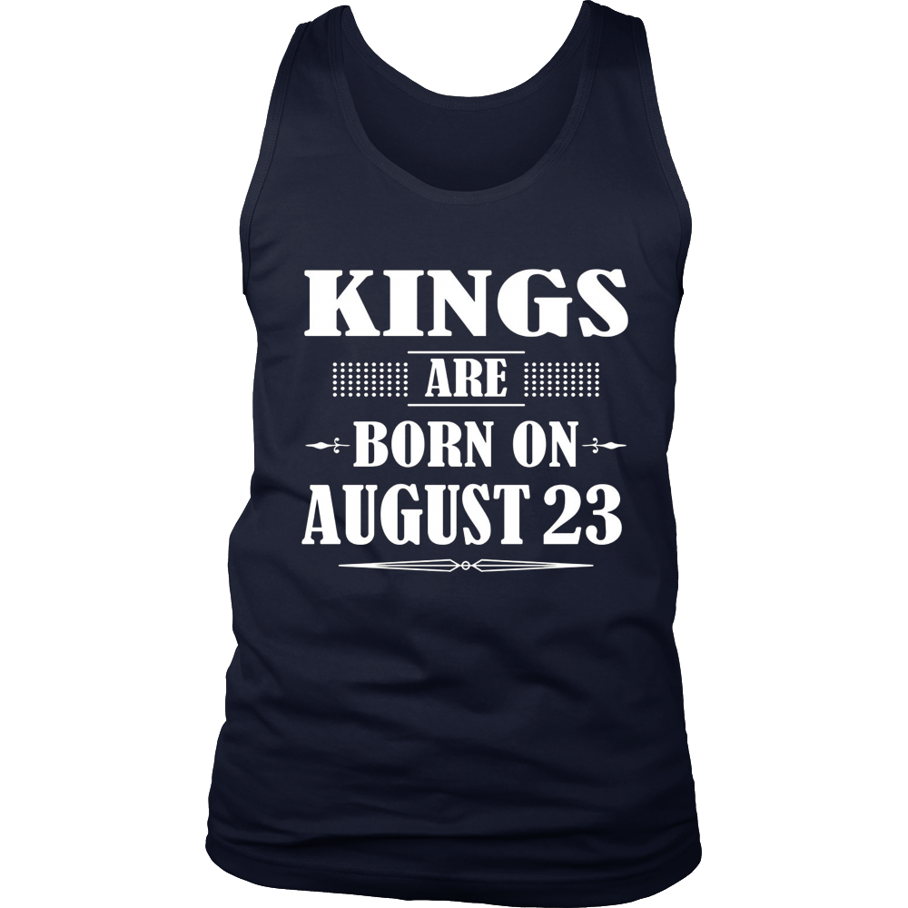 Kings Are Born On August 23 T-Shirt