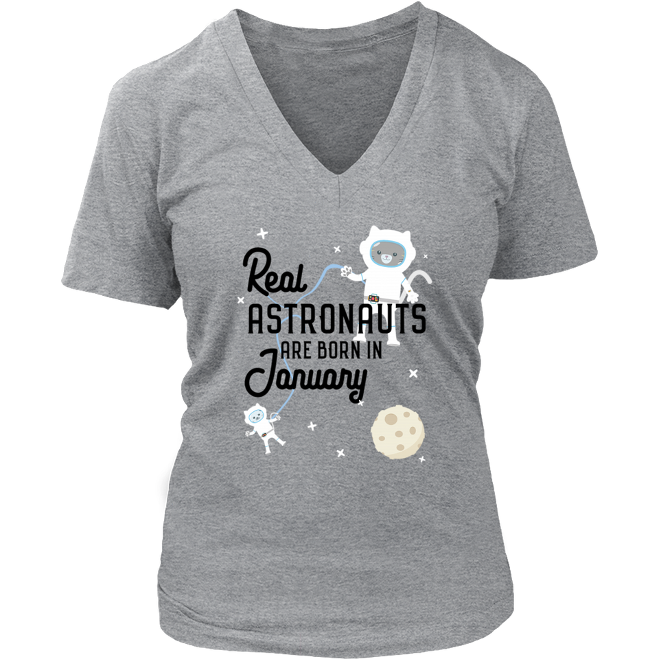 Astronauts are born in January Birthday Gift - Bornmay