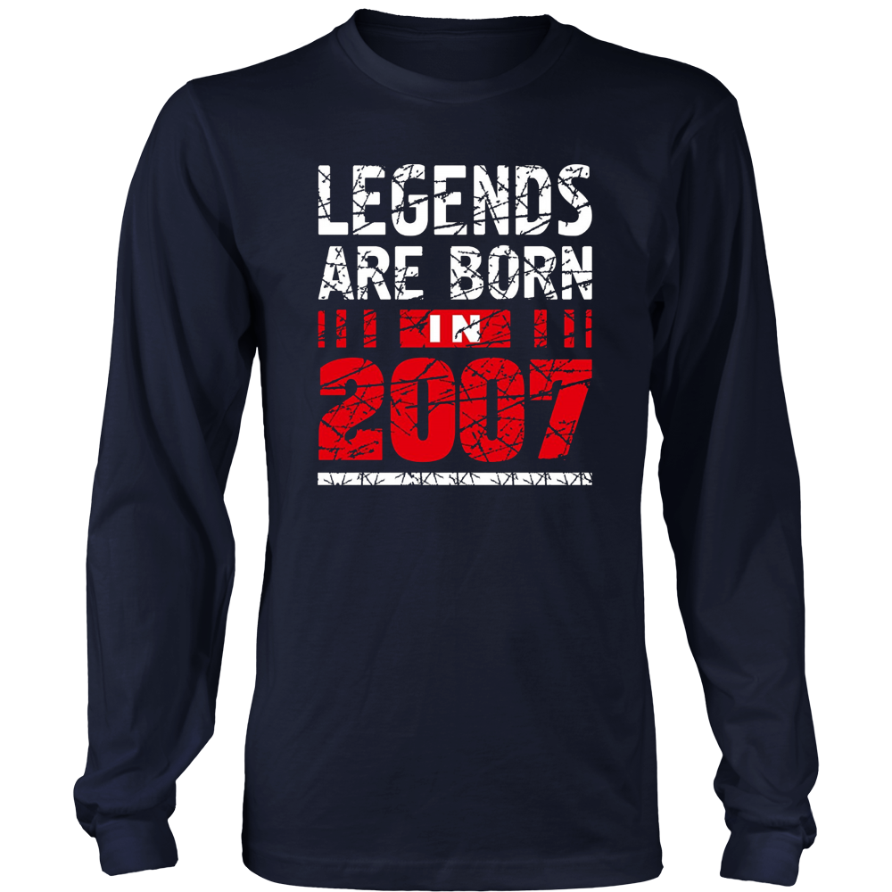 10 years old 10th Birthday B-day Gift Legends 2007 T Shirt