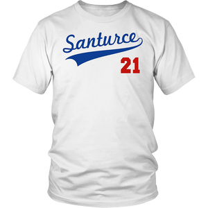 Santurce 21 Puerto Rico Baseball Shirt