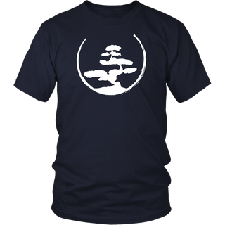 Bonsai Tree T-Shirt - Zen Buddhist Japanese Gardening Tee