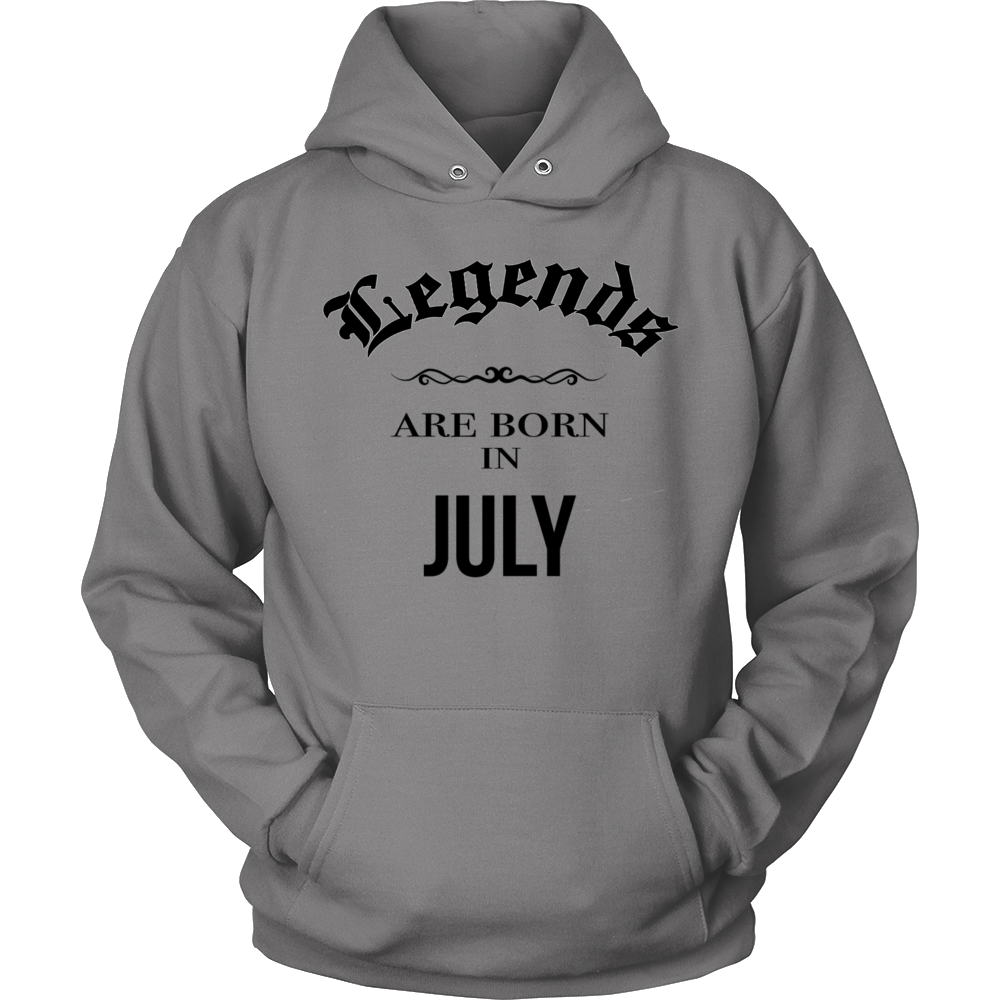 Birthday Legends are born in July Gift T Shirt