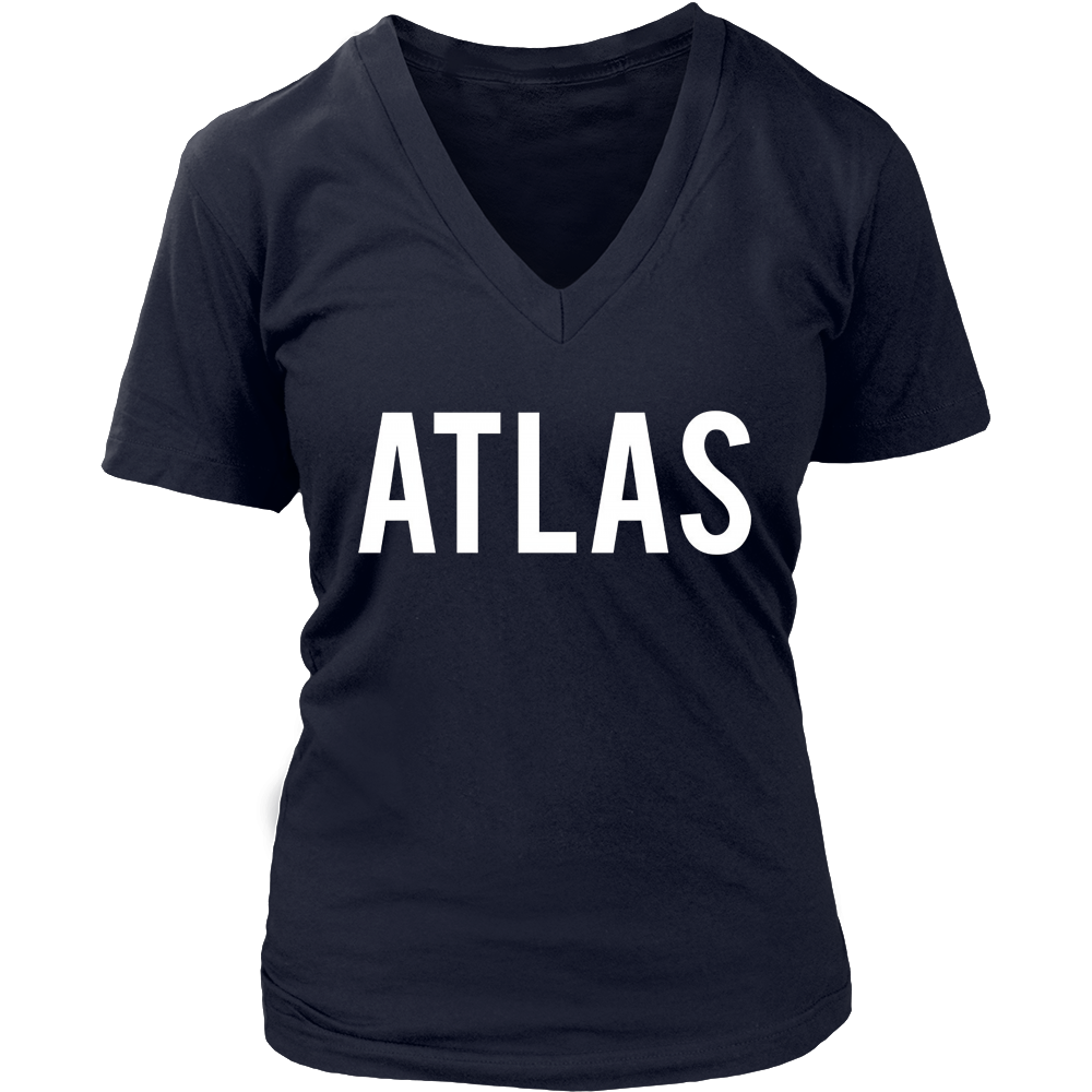 Atlas T Shirt - Cool new funny name fan cheap gift tee