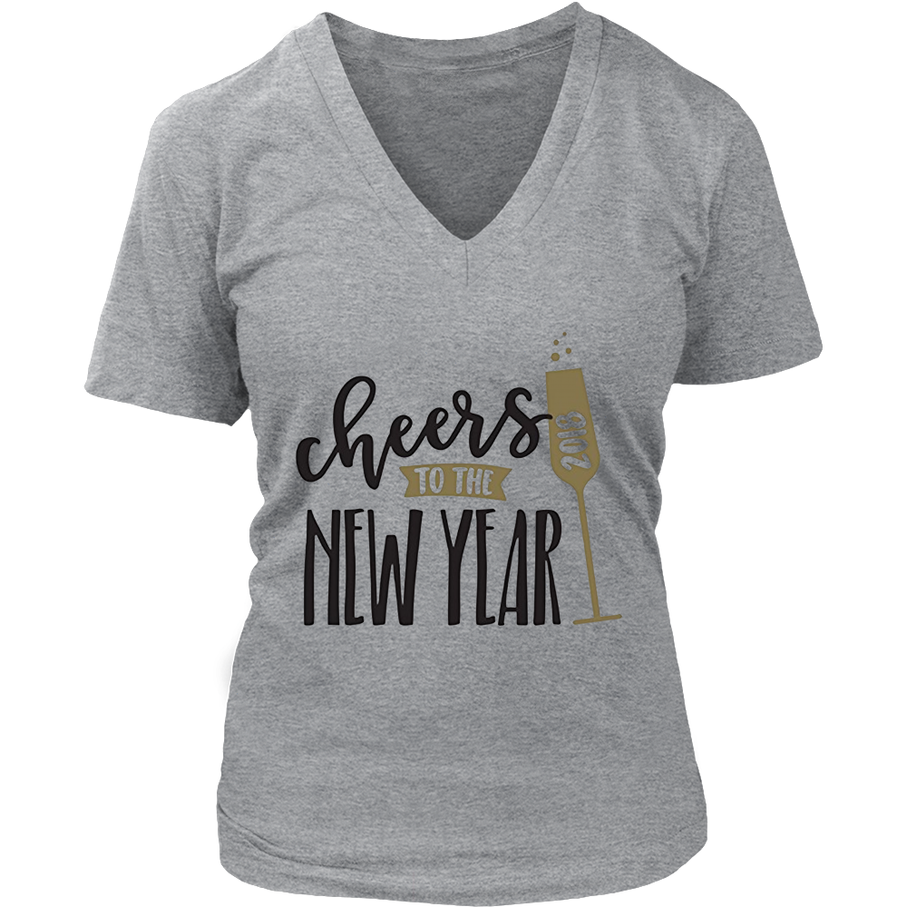 2018 Happy New Year Shirt, New Years Eve Party T-Shirt