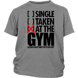 AT THE GYM T-SHIRT Hoodie - Tank-Top - Bornmay Quotes Hoodie