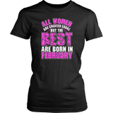 All Women Are Created Equal But The Best Are Born Funny Shirt Quotes Hoodie