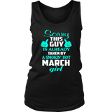 A Smokin' Hot March Girl T-Shirt Quotes Hoodie