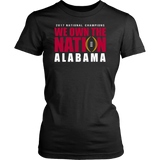 Alabama 2017 National Champions - We Own The Nation Shirt Quotes Hoodie