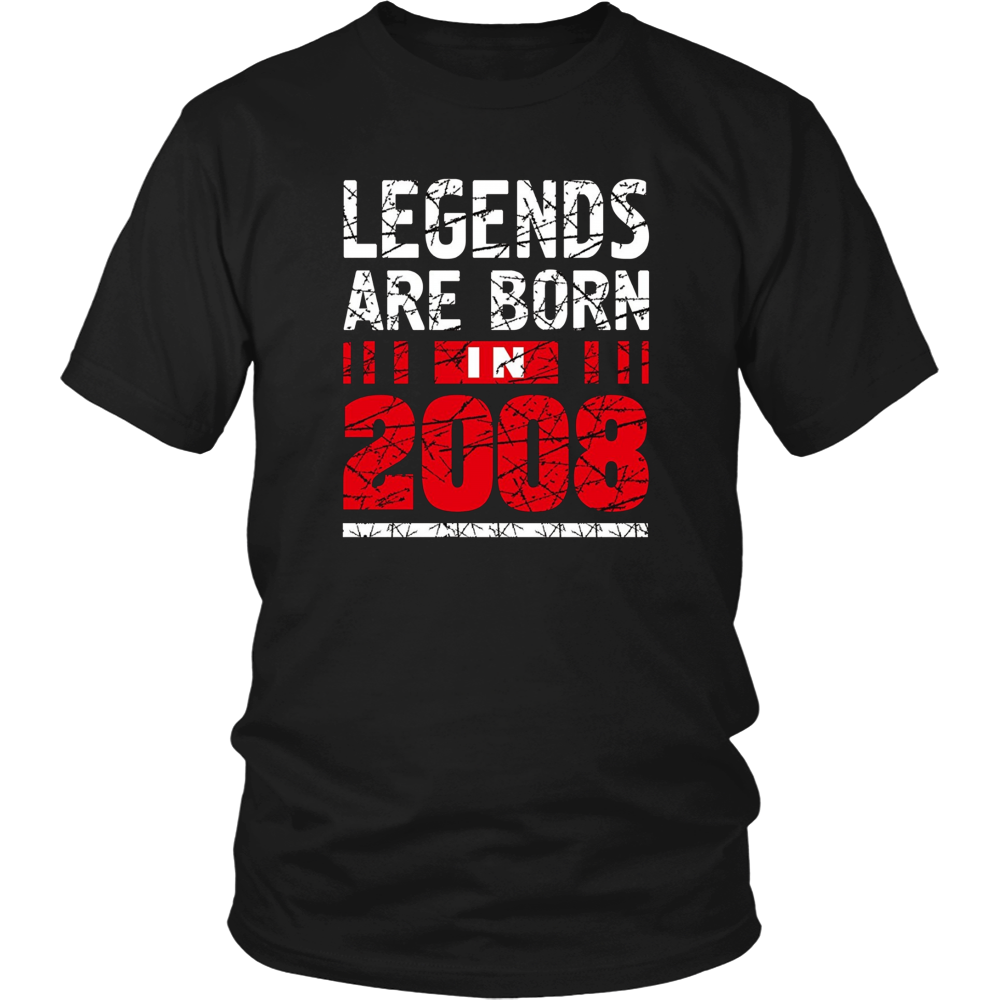 9 years old 9th Birthday B-day Gift Legends 2008 T Shirt
