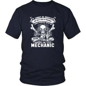 Mechanic engineer mechanical engineering retro m T-Shirt