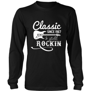 50th Birthday Classic Since 1967 Shirt - 50 Years Old Gifts