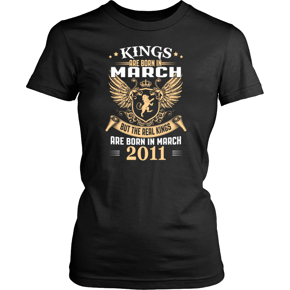 Kings Are Born in March 2011 T-Shirt