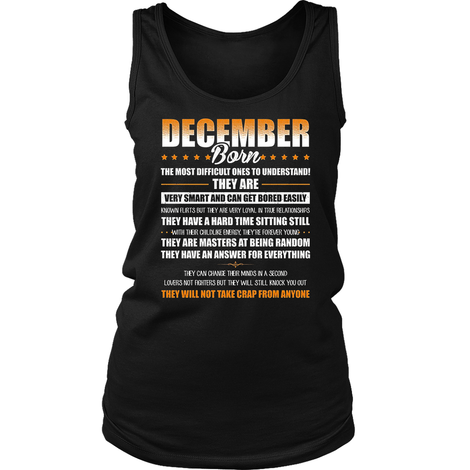 Born In December T-Shirt Birthday December Born Gift Shirts