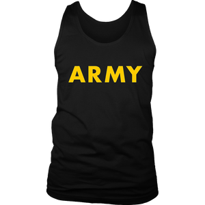 APFU Army Physical Fitness Uniform Style - Black ARMY Shirt