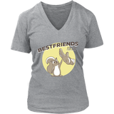 Best Friends For Life Squirrel Animals Pet Love Cute T-Shirt Quotes Hoodie