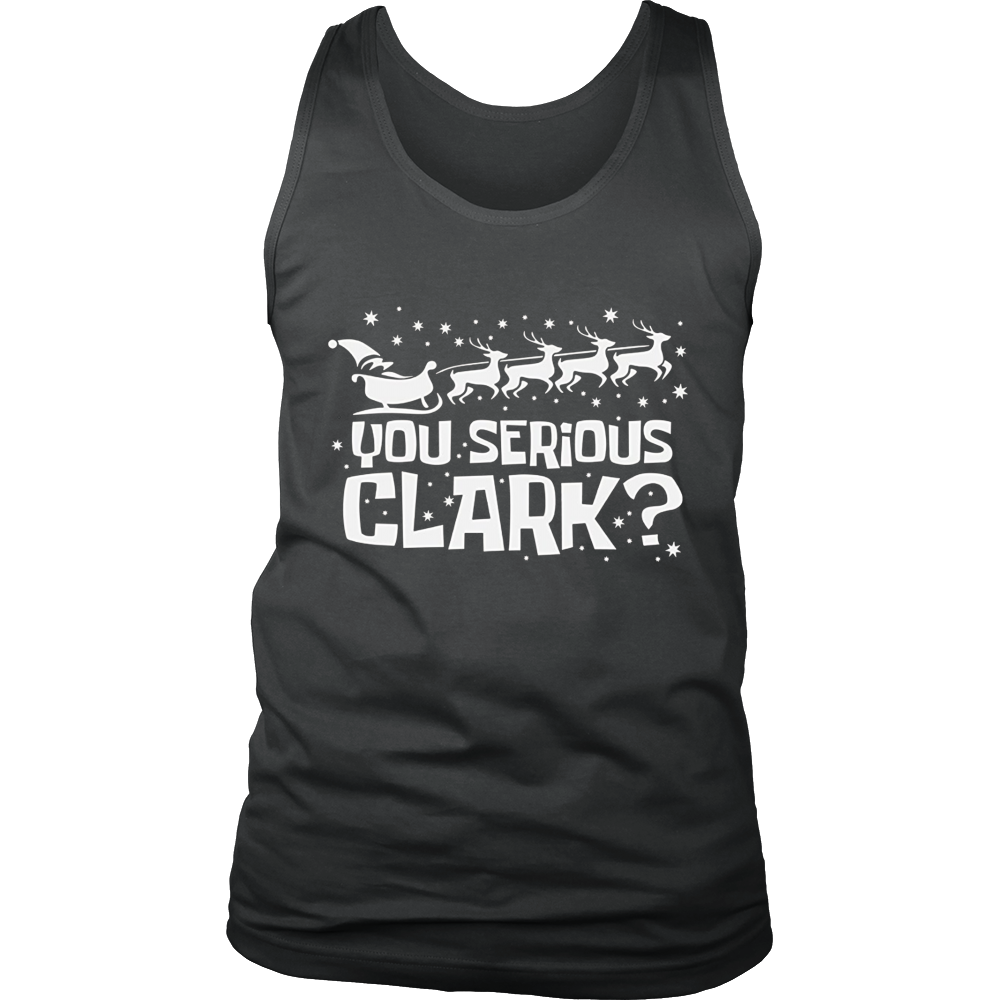 Are You Serious Clark T Shirt Funny Christmas Quote Holiday - Bornmay