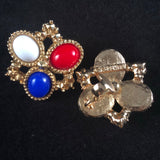 1972 Sarah Coventry Americana Brooch & Earrings