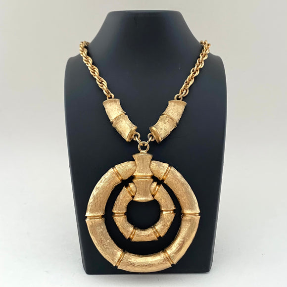 1960s Napier Pendant Necklace