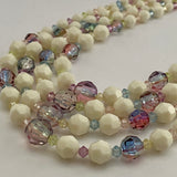 1960s Germany 4 Strand Bead Necklace