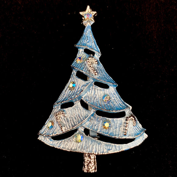 1960s Beatrix Jewelry (BJ) Christmas Tree Brooch