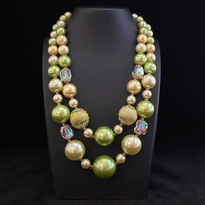 1960s Japan Bead Necklace - Retro Kandy Vintage