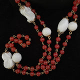 Late 50s/ Early 60s Coro Bead Necklace - Retro Kandy Vintage