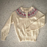 1960s A Fashion Import Sweater