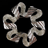 1971 Sarah Coventry Ribbonette Brooch - Retro Kandy Vintage