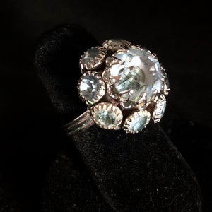 1974 Emmons Crystal Lights Ring