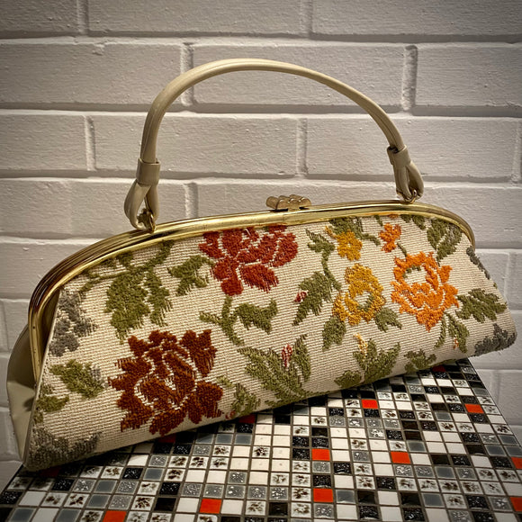 Late 60s/ Early 70s Tapestry Handbag