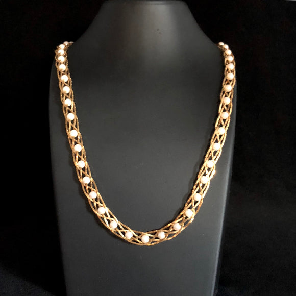 1994 Avon Pearlesque Treasures Necklace