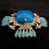 1970s Castlecliff Brooch Designed By Larry Vrba