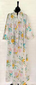 Late 60s/ Early 70s Sears Flowered Robe- New!