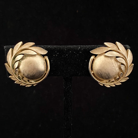 1950s Crown Trifari Earrings