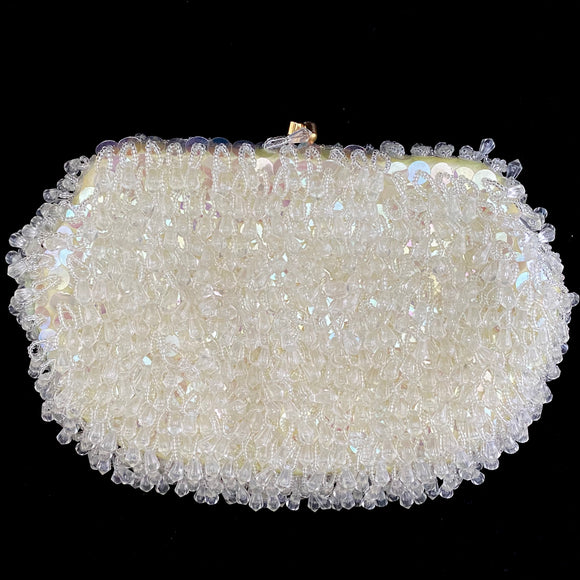 Late 40s/ Early 50s La Regale Beaded Clutch - Retro Kandy Vintage