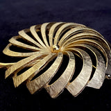 Late 50s/ Early 60s Monet Gold-Tone Brooch
