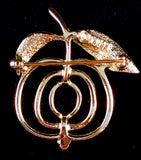1972 Sarah Coventry Saucy Brooch (Gold)