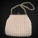 Late 60s/ Early 70s Made in Hong Kong Beaded Purse - Retro Kandy Vintage