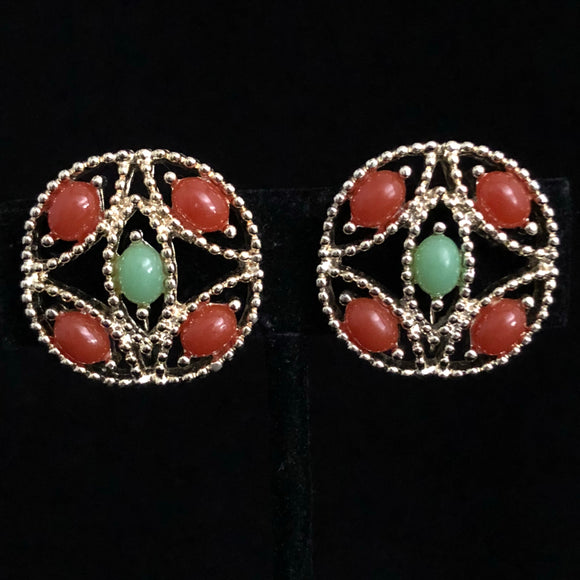 1969 Sarah Coventry Alcapulco Earrings