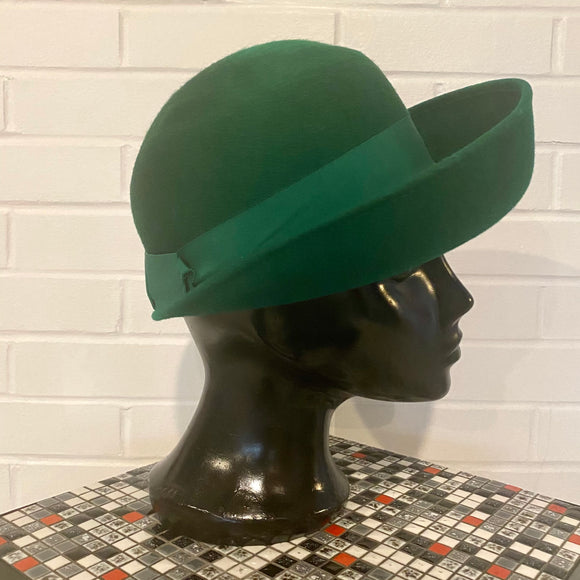1960s Henry Pollack Inc. Wool Hat