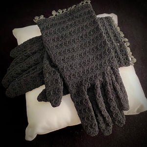 1950s Stretch Lace Gloves