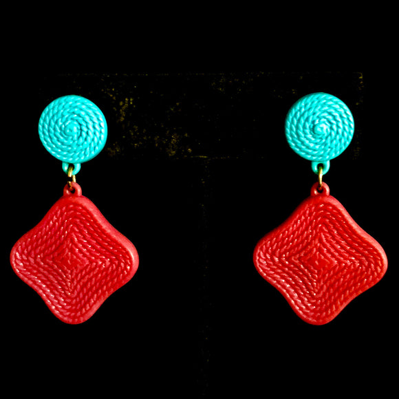 1988 Avon Summer Resort Earrings - Retro Kandy Vintage