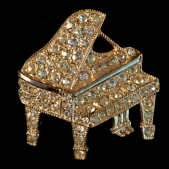 Late 70s/ Early 80s ORA Piano Brooch