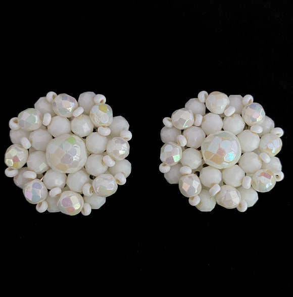 1960s Western Germany Bead Earrings