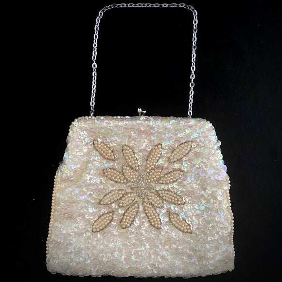 Late 40s/ Early 50s La Regale Sequin and Beaded Bag - Retro Kandy Vintage