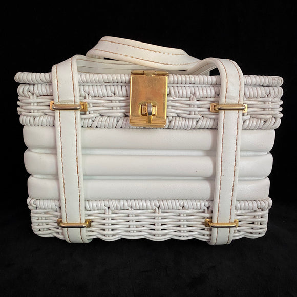 Late 50s/ Early 60s Walborg Basket Purse