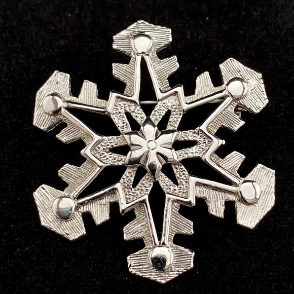 1977 Sarah Coventry Snowball Brooch